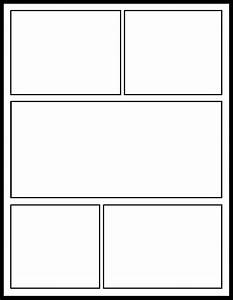 7 best images of comic strip template printable comic With comic strip template for kids