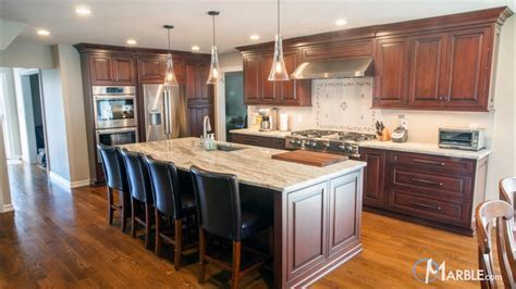 Fantasy Brown Quartzite Kitchen Countertops
