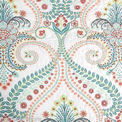 cynthia rowley xl medallion queen quilt pc set tropical