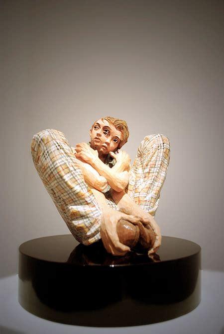sculptures  yoshitoshi kanemaki