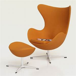 Egg Chair Arne Jacobsen : 3d egg chair by arne jacobsen high quality 3d models ~ Bigdaddyawards.com Haus und Dekorationen