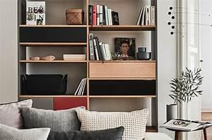 Regal Hinter Sofa : wohnzimmer einrichten gestaltet eure oase mycs magazyne ~ Frokenaadalensverden.com Haus und Dekorationen