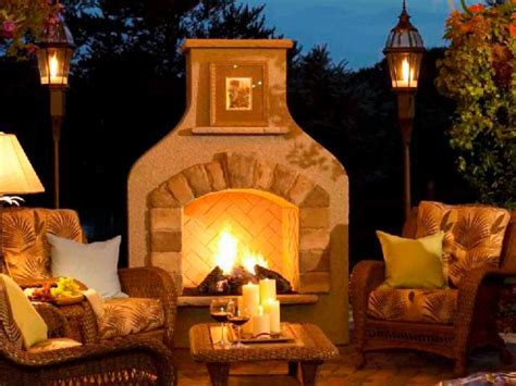 Outdoor Fireplaces : Outdoor Fireplace Design Ideas