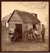 Uncle Gabriel s Cabin  in South Carolina  His master s house is      Slavery In The South