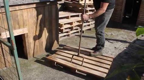 fabrication canap palette bois fabrication canapé en palette