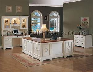White Office Furniture Collections Distressed White