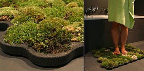 live moss bath mat innovative eco friendly products ecofriend