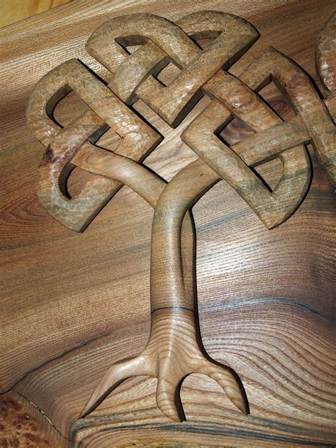 images  celtic design woodcarving  pinterest