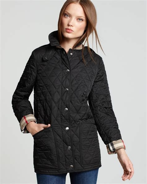 burberry quilted jacket womens burberry brit fairstead quilted jacket s