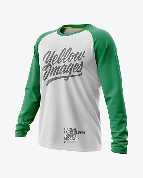 It also has a zipper and a front pocket. Free Sports Mockups Mens Raglan Long Sleeve T-Shirt Jersey ...