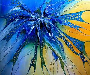 Abstrakte Bilder Leinwand : bild gelb abstrakte malerei gem lde acrylmalerei von alex b bei kunstnet ~ Sanjose-hotels-ca.com Haus und Dekorationen