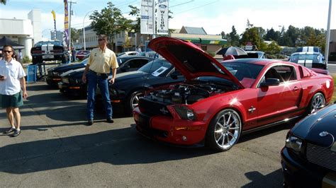 Mustang Car Shows