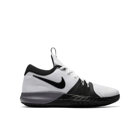 nike zoom assertion basketball shoes  kids whiteblack