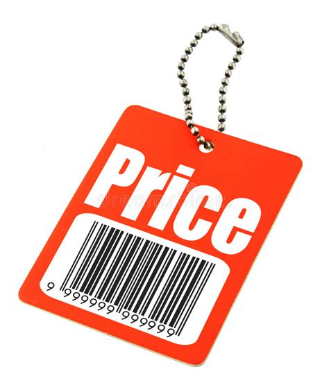 Price Tag Image Price Tag With Bar Code Stock Image Image Of