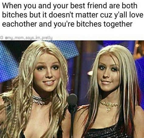 Christina Aguilera Meme - luv you bitches britney spears christina aguilera lol meme sorority instagram memes