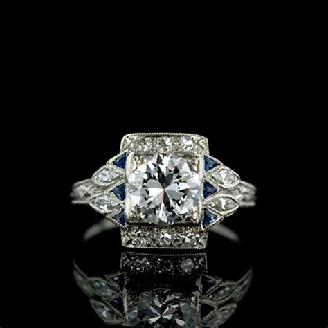 deco style ring jewelry store san diego custom engagement ring rings