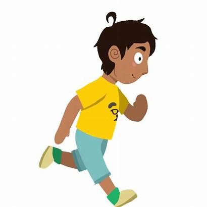 Running Character Animation Kid Final