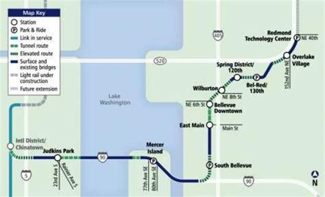 Light Rail Bellevue by East Link Light Rail Transportation
