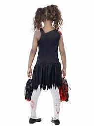 girl zombie cheerleader halloween costume