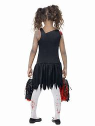 girl zombie cheerleader halloween costume