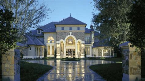 chateau design style luxury home plans small chateau homes