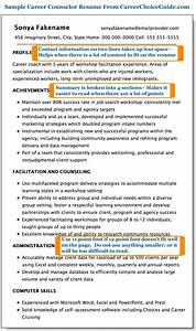 sample career counselor resume With resume writing and career counseling services
