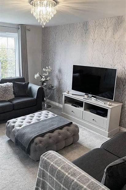 Grey Tree Shimmer Living Soft Cozy Ilovewallpaper