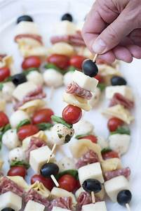 Antipasto Skewers - An easy, impressive party appetizer!
