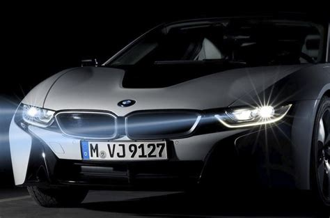 bmw i8 laser lights bmw i8 will be to offer new laser lighting tech