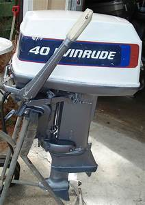 Used, 40, Hp, Evinrude, Outboard, Boat, Motors, For, Sale