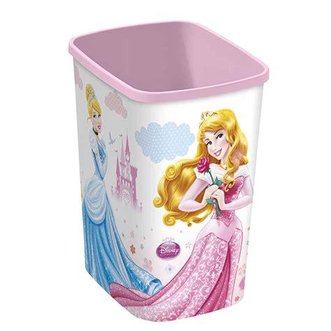 poubelle chambre bébé corbeille a papier princesse