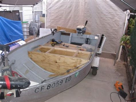 Aluminum Fishing Boat Project by Upgrading Your Aluminum Fishing Boat Wmv Construction
