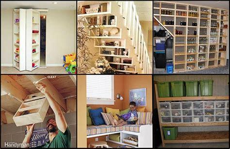 Genius Basement Storage Ideas