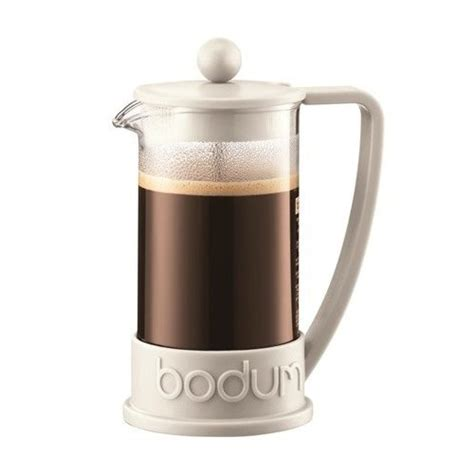 bodum brazil three cup french press coffee maker off