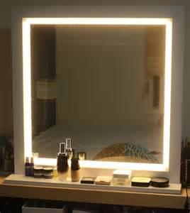 led lighting mirror for make up or starlet lighted vanity
