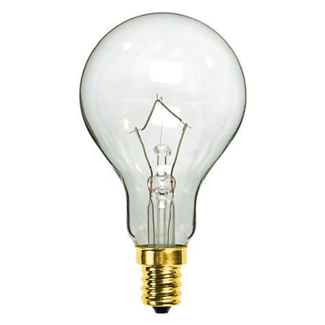 60 watt clear ceiling fan light bulb plt l2766