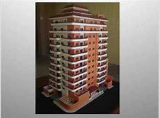 Maqueta Guatemala Edificio de Apartamentos, escala 175