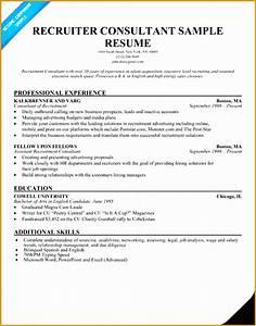 Uk Cv Sample 7 Recruitment Consultant Resume Sample Free Samples
