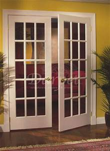 15 lite french clear glass primed 6 8 darpet doors With 6 lite french door
