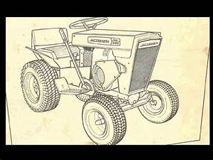 Jacobsen Chief Super Chief Tractor Manual Set For 800 1000