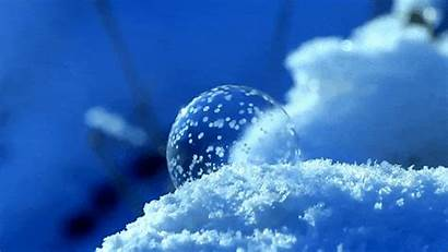 Frozen Bubbles Ice Crystals Bubble Crystal Form