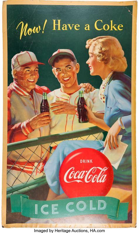 Advertising: Three Baseball Theme Coca Cola Posters ...