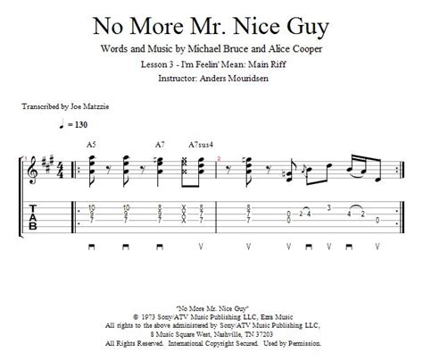 Guitar Lessons: I'm Feelin' Mean: Main Riff | Guitar lessons, Lesson, Guitar books