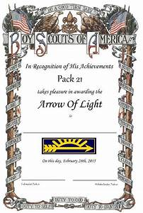 47 best arrow of light images on pinterest arrow of With arrow of light certificate template