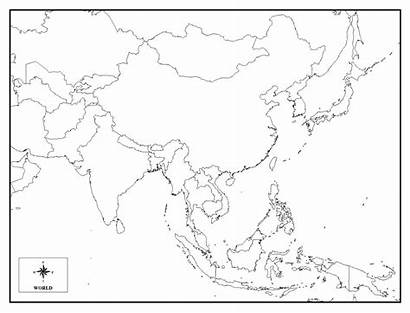 Asia Coloring Map Continent Continents Entitlementtrap Impressive