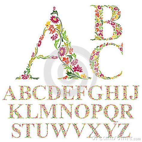floral font letter h stock photos floral font letter h font made with leaves floral alphabet letters set stock 60525