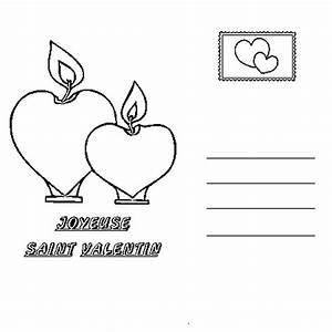 Dessin Saint Valentin : carte saint valentin coloriage carte saint valentin en ~ Melissatoandfro.com Idées de Décoration