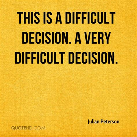 Difficult Decision by A Difficult Decision Essayresponsibility Web Fc2