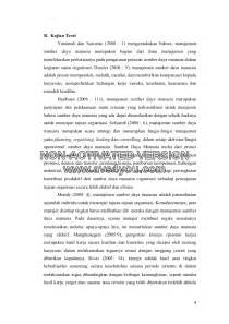 Review jurnal sdm