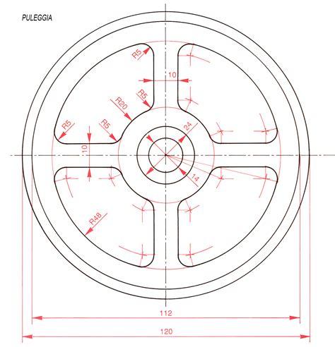 disegno meccanico dispense cad
